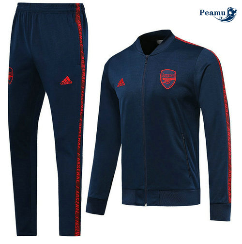 Veste Survetement Arsenal Bleu navy 2019-2020