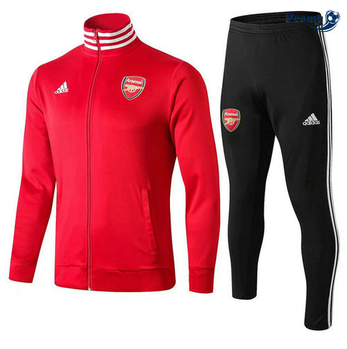 Veste Survetement Arsenal Rouge 2019-2020 Collo Alto