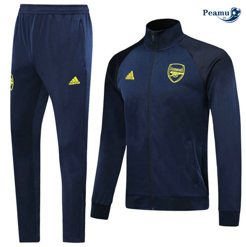 Veste Survetement Arsenal Bleu navy 2019-2020 Collo Alto