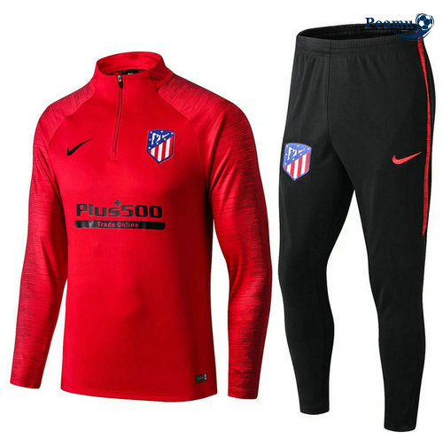 Survetement Atletico Madrid Rouge/Noir 2019-2020