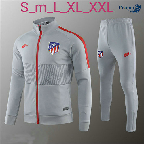 Veste Survetement Atletico Madrid Gris 2019-2020