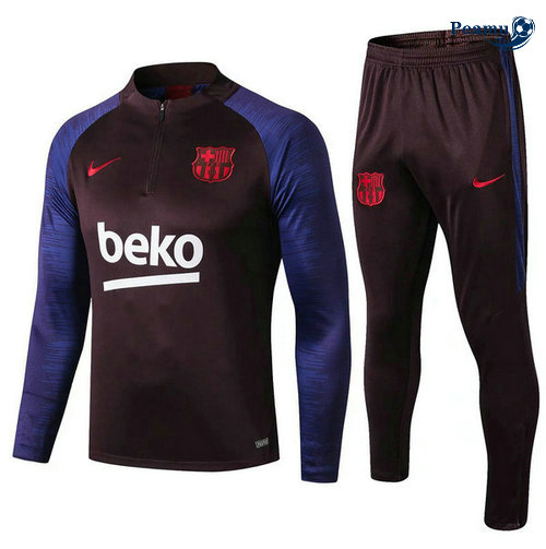 Survetement Barcelone beko 2019-2020 sweat zippe