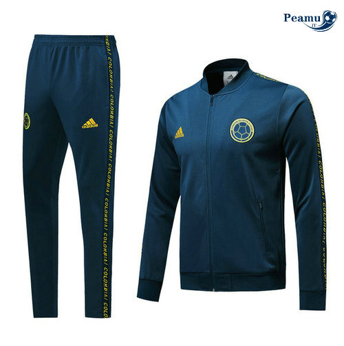Veste Survetement Colombie Bleu navy 2019-2020