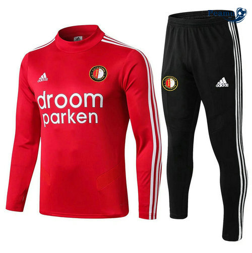 Survetement Feyenoord Rouge Noir 2019-2020