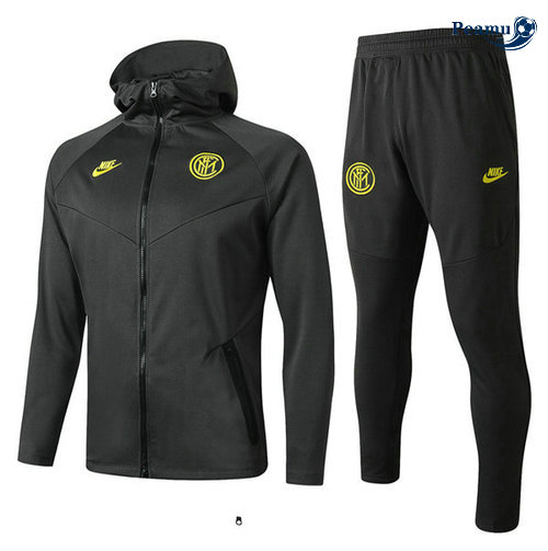 Survetement - Sweat à capuche Inter Milan Noir 2019-2020