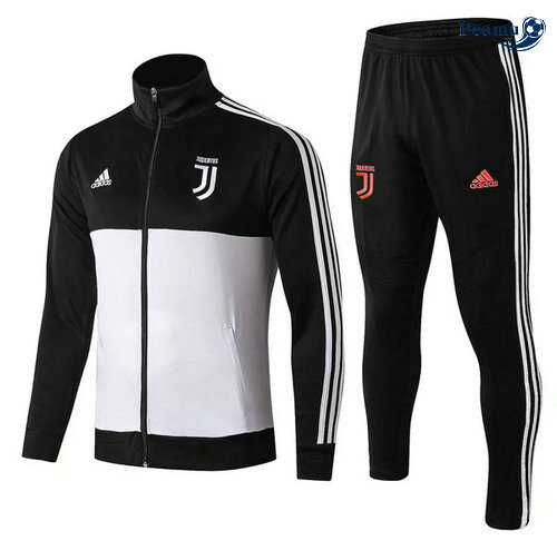 Veste Survetement Juventus Noir/Bianco 2019-2020 Collo Alto