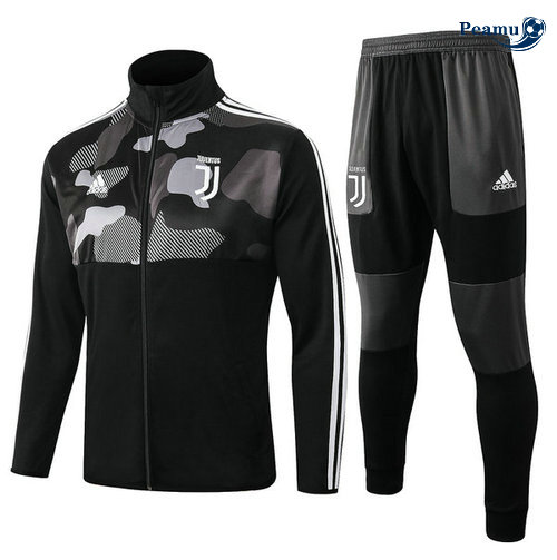 Veste Survetement Juventus Noir Collo Alto 2019-2020