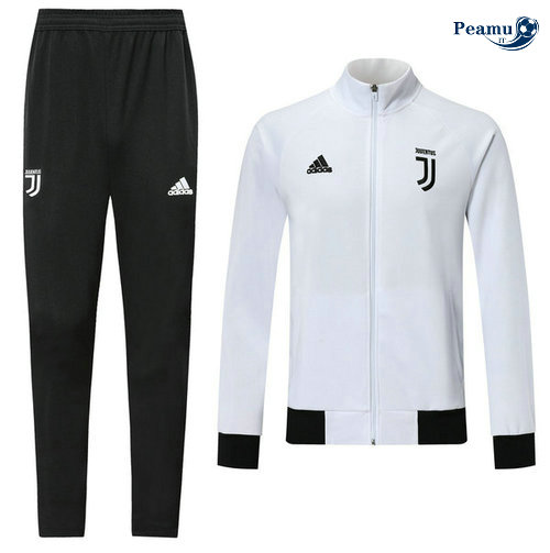 Veste Survetement Juventus Bianco/Noir 2019-2020