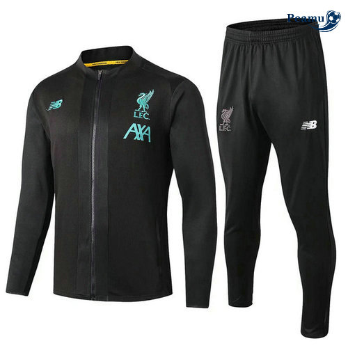 Veste Survetement Liverpool L.F.C Noir 2019-2020