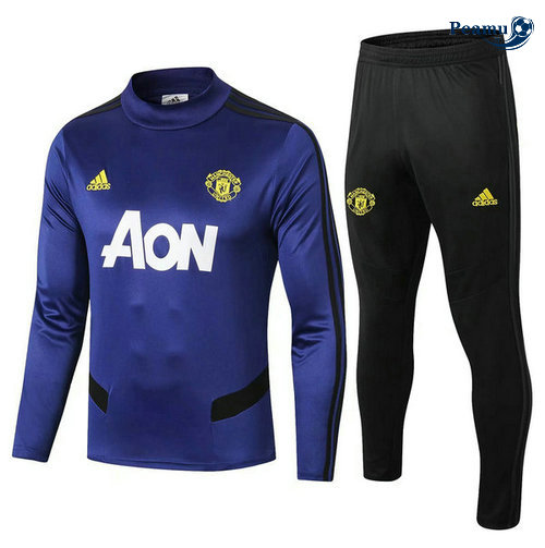 Survetement Manchester United Bleu navy 2019-2020