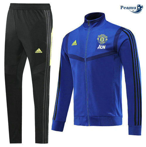 Veste Survetement Manchester United Bleu navy 2019-2020