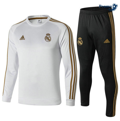 Survetement Real Madrid Bianco 2019-2020