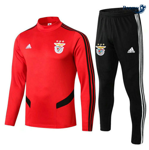 Survetement S.L Benfica Rouge Noir 2019-2020