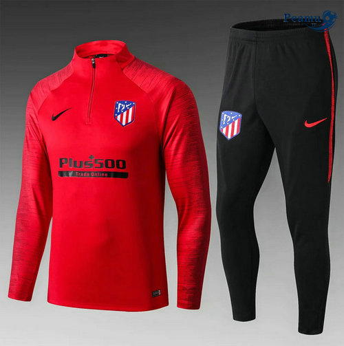 Survetement Atletico Madrid Enfant Rouge/Noir 2019-2020