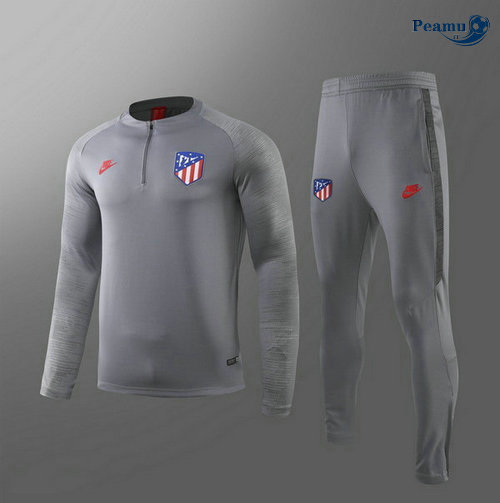 Survetement Atletico Madrid Enfant Gris 2019-2020