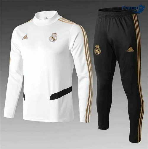 Survetement Real Madrid Enfant Bianco/Noir 2019-2020
