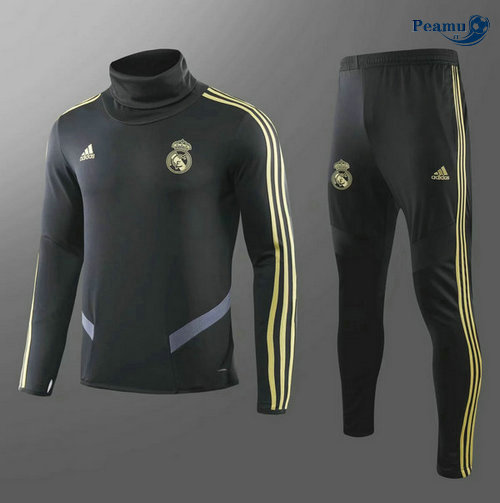 Survetement Real Madrid Enfant Noir Collo Alto 2019-2020