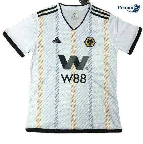 Maillot foot Wolves Bianco 2019-2020