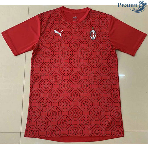 Maillot foot AC Milan Entrainement Rouge 2020-2021