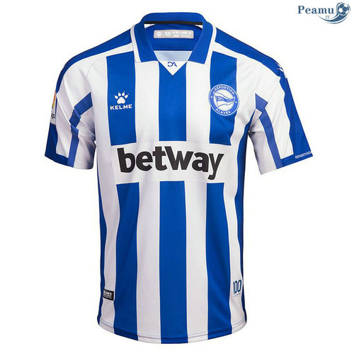 Maillot foot Alaves Domicile 2020-2021