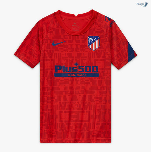 Maillot foot Atletico Madrid Pre Match Rouge 2020-2021