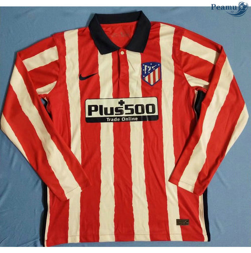 Maillot foot Atletico Madrid Domicile Manche Longue 2020-2021