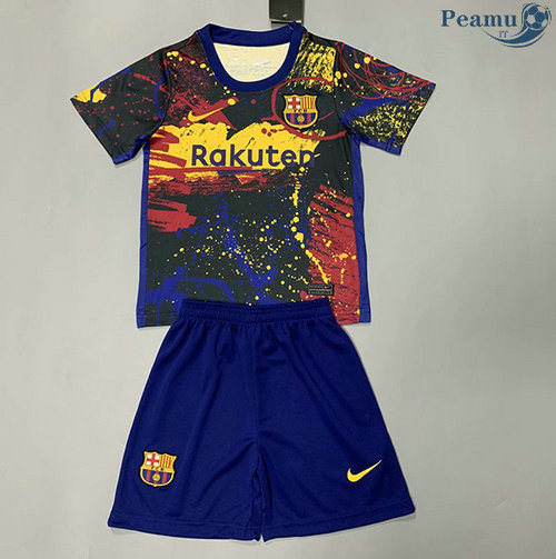 Maillot foot Barcelone Enfant Pre-Match 2020-2021