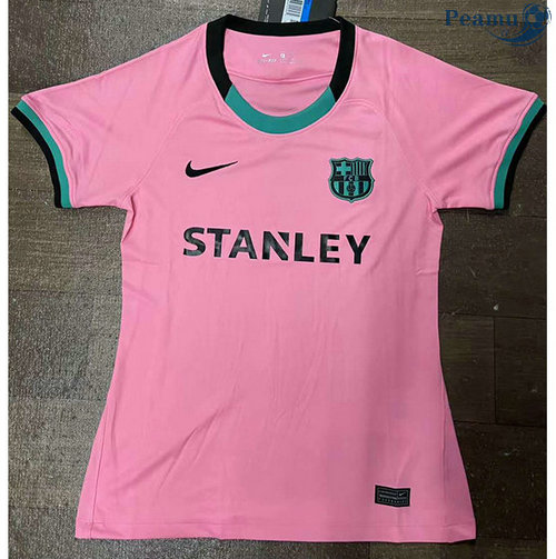 Maillot foot Barcelone Femme Third Rose 2020-2021 2020-2021