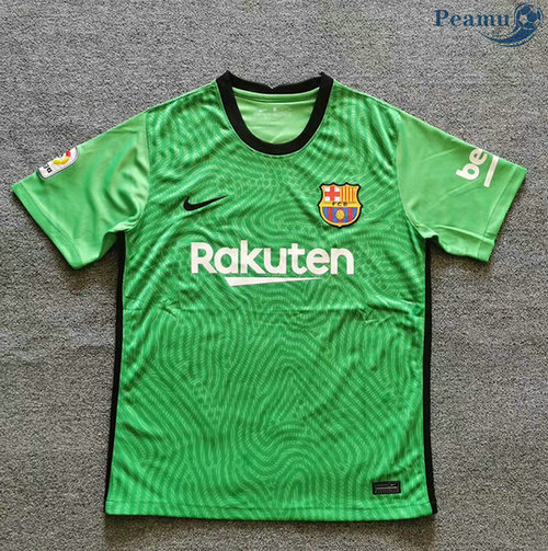 Maillot foot Barcelone Pre Match Verde 2020-2021