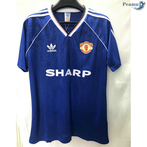 Maillot Rétro Manchester United Third 1988