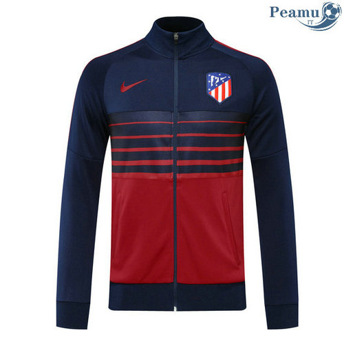 Veste foot Atletico Madrid Bleu Marine/Rouge 2020-2021