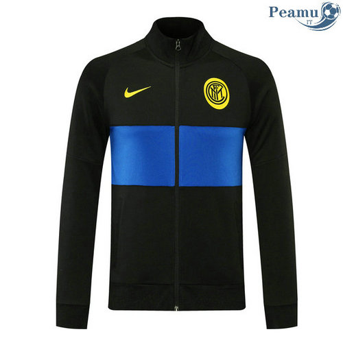 Veste foot Inter Milan Noir 2020-2021