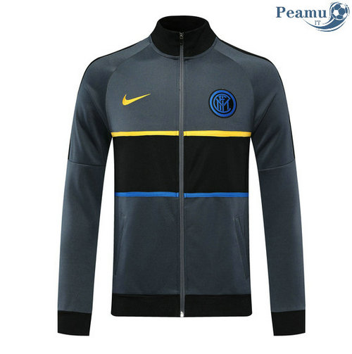 Veste foot Inter Milan Gris 2020-2021