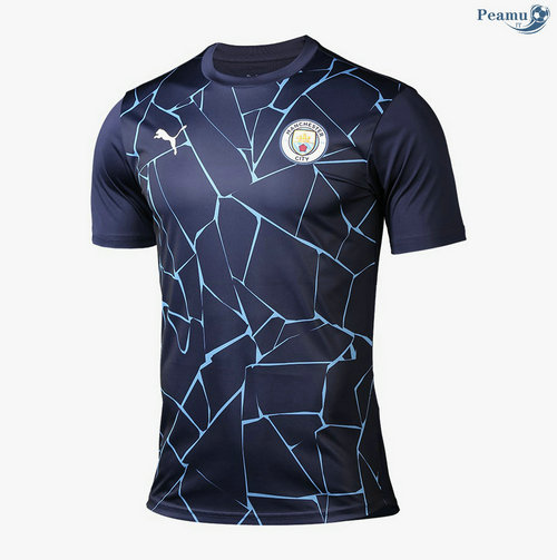 Maillot foot Manchester City Domicile pre-match 2020-2021