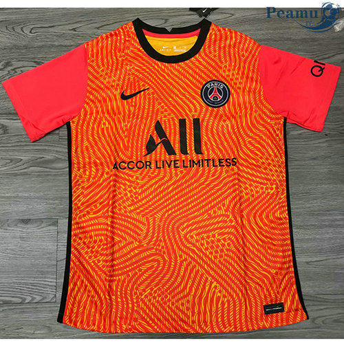 Maillot foot PSG Orange 2020-2021