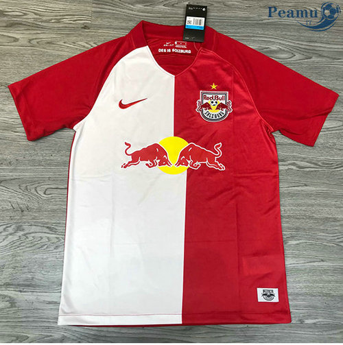 Maillot foot RB Leipzig Rouge/Blanc 2020-2021