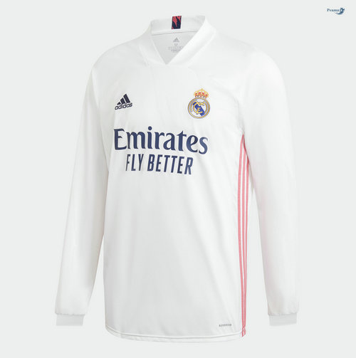 Maillot foot Real Madrid Domicile Manche Longue 2020-2021