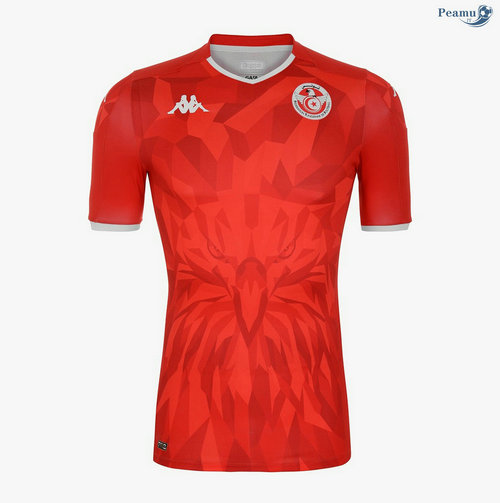 Maillot foot Tunisie Exterieur Rouge 2020-2021