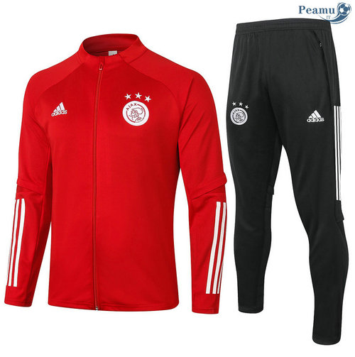 Veste Survetement AFC Ajax Rouge 2020-2021
