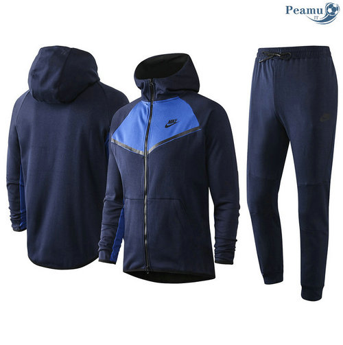 Survetement - Sweat à capuche nike Bleu Marine/Bleu 2020-2021