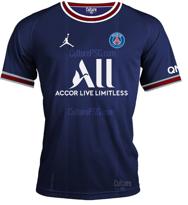 Maillot foot PSG Domicile 2022